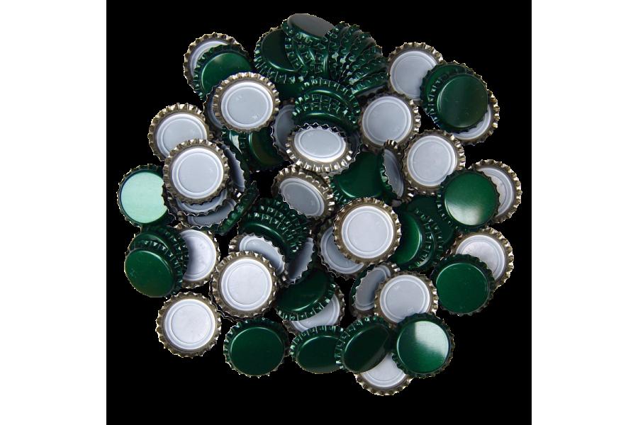 Uzávěr korunkový 29' zelený (200ks) obrázek