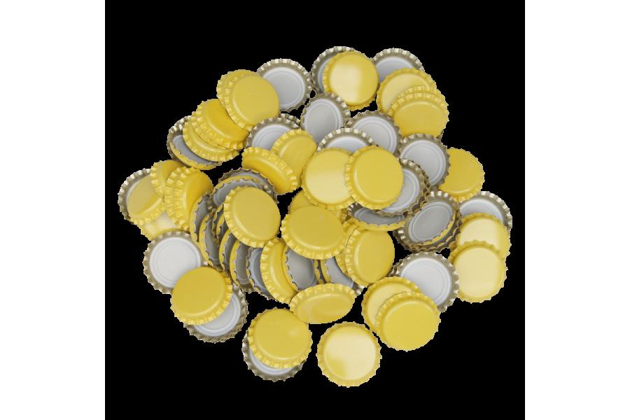 Uzávěr korunkový 29' žlutý (200 ks)  obrázek